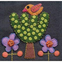 Sue Spargo Pre Cut Block Bird and Tree CW2