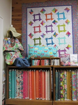 Precision Quilt on display at Creations