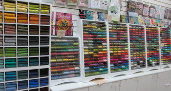 Threads choice abound at Creations