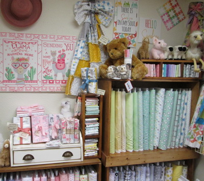 Kids Flannel display in Creations