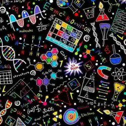 C8249 Bright Science Print from Timeless Treasures