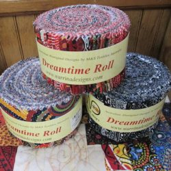 "Australian Aboriginal 2 1/2"" strips roll"
