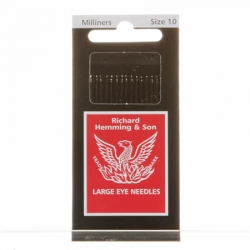 Richard Hemming & Son Milliners needles size 10