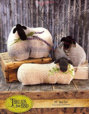 Lazy Ewe Pattern by Threads that Bind