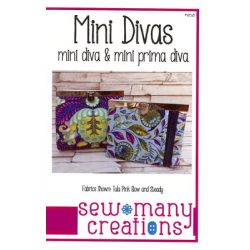 Mini Diva Wallet Pattern from Sew Many Creations