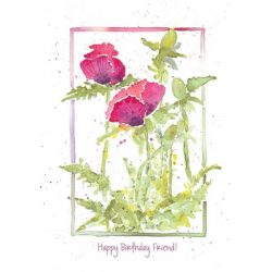 Words & Watercolor Cards by Peg Conley