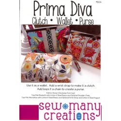 Prima Diva Clutch Wallet Purse Pattern
