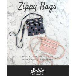 Sallie Tomato Zippy Crossbody Bag LST106