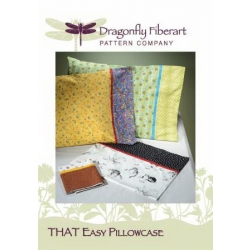 Dragonfly Fiberart Pillowcase DFHD-10