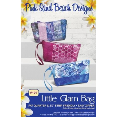 Little Glam Bag from Pink Sand Beach Designs PSB107