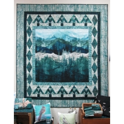 Serenity Pines Quilt Kit from Creations