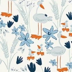 Clothworks Blue Goose Y3100-116