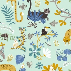 Clothworks Jungle Jive Y3111 100