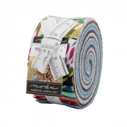 "Moody Bloom Precut from Moda Fabrics 2 1/2"" strips 8440JR"