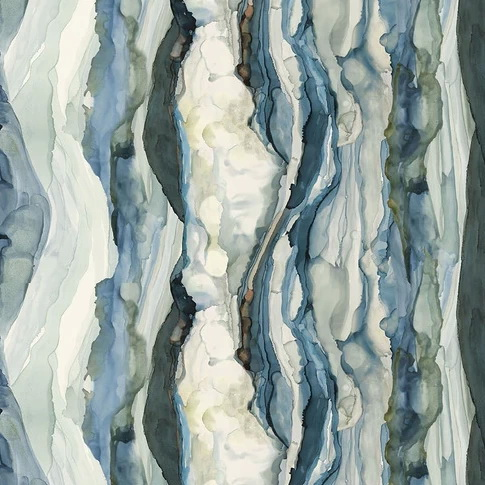 Time & Tide by Shell Rummel for Free Spirit Fabrics PSWR039 Ocean Beachglass