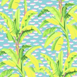 Free Spirit Fabric Banana Tree PWGP179 Black