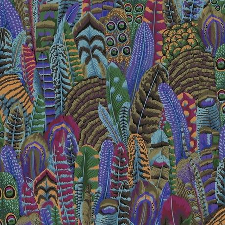 Free Spirit Fabrics Feathers PWPJ055 Autumn