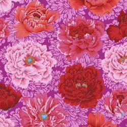 Free Spirit Fabrics Brocade Peony PWPJ062 Hot