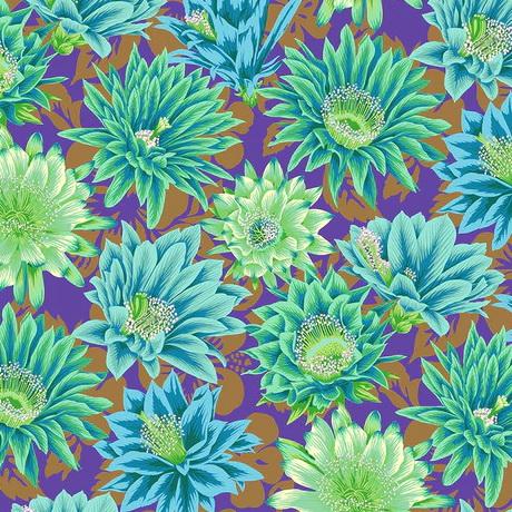 Free Spirit Fabrics Cactus Flower PWPJ096 Emerald