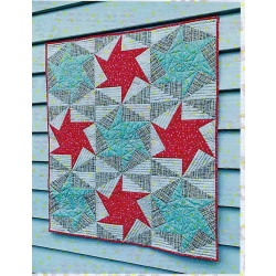 Cut Loose Press Pinwheel Hexagon pattern CLPSCH001