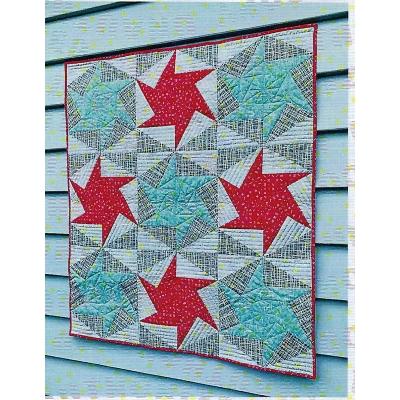 Cut Loose Press Pinwheel Hexagon pattern CLPSCH001