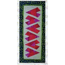Cut Loose Press Pattern Crazy Hearts CLPKAL011
