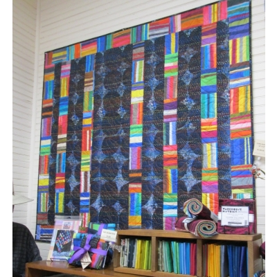 """Curio Quilt Kit from Creations 50"""" x 55"""""""