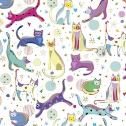 Clothworks Kitty Cats 27923 Z