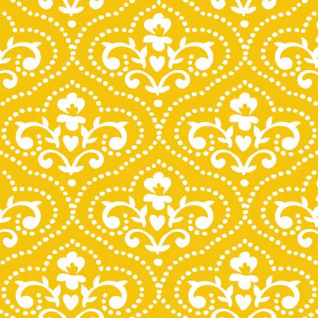3 Wishes Yellow Toile 17270