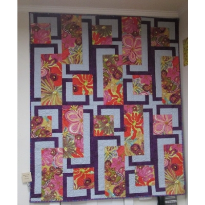 BQ4 Quilt kit from Creations