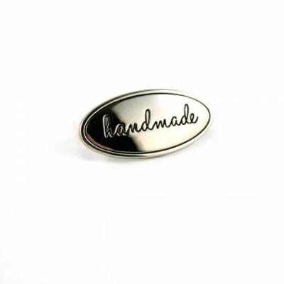 Emmaline Metal Bag Label Handmade EBLBL-2NL Nickel