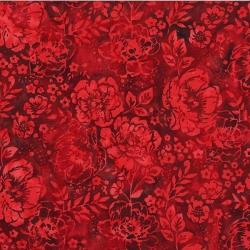 Hoffman Batiks S2363 Red