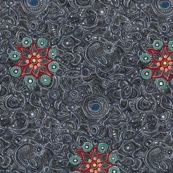 M & S Textiles Yallaroo Black YALB