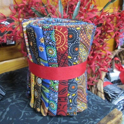Fat Quarter Pack Aboriginal prints from Creations Multi colors