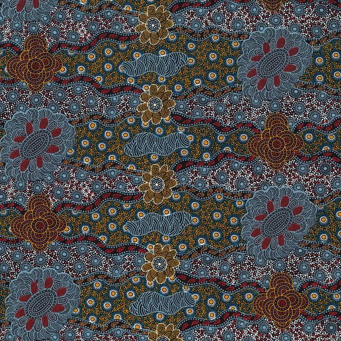 M & S Textiles Lillup Dreaming Ash