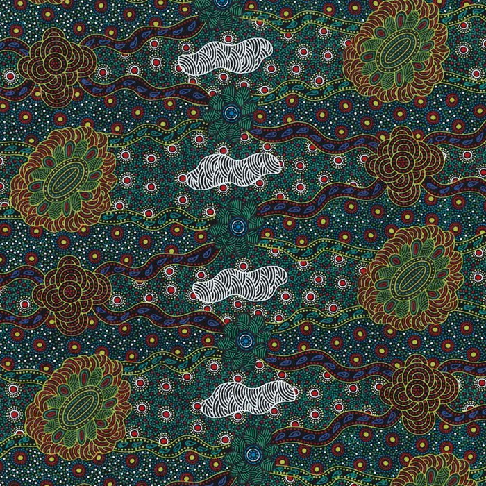 M & S Textiles Lillup Dreaming Green