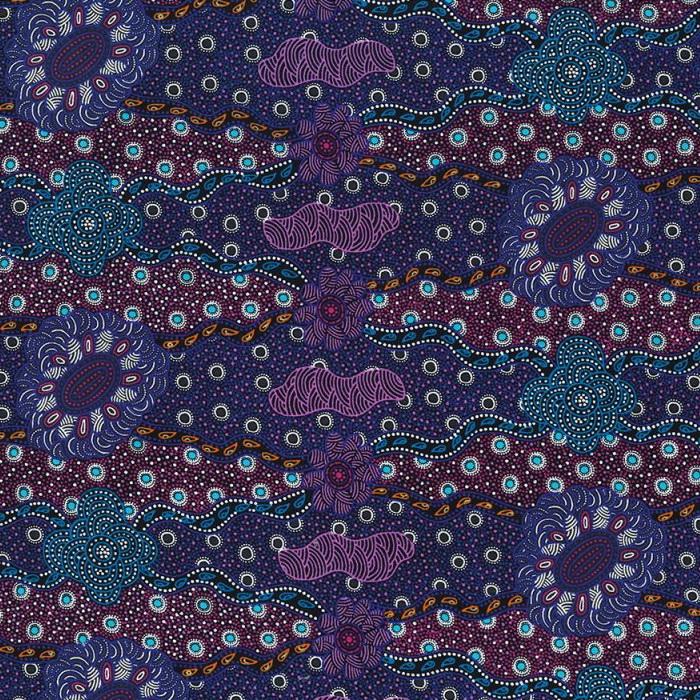 M & S Textiles Lillup Dreaming Purple