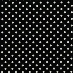 Michael Miller Fabrics Dumb Dot CX2490 Black