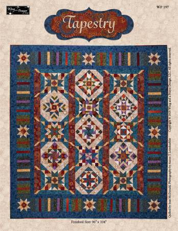 Tapestry pattern from Wing and a Prayer