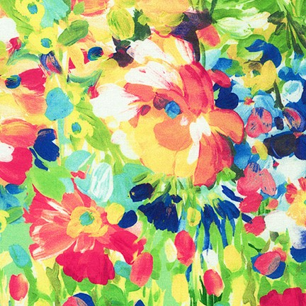 Robert Kaufman Painterly Petals 20263 205