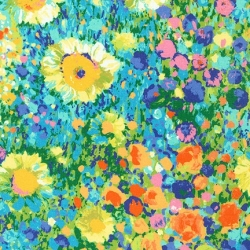 Robert Kaufman Painterly Petals 19148 205