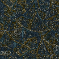 M & S Textiles Looking Around Blue LARBL