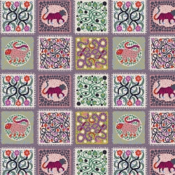 Free Spirit Fabrics Monika Forsberg PWMF008 Lavender