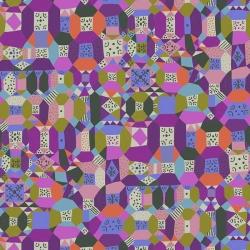 Free Spirit Fabrics Monika Forsberg PWMF010 Purple