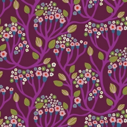 Free Spirit Fabrics Monika Forsberg PWMF007 Magenta