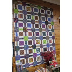 """Creations quilt kit Squares and Rectangles 54"""" x 72"""""""