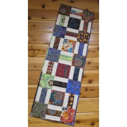 "Creations Table Runner kit 15"" x 45"" Aboriginal prints"