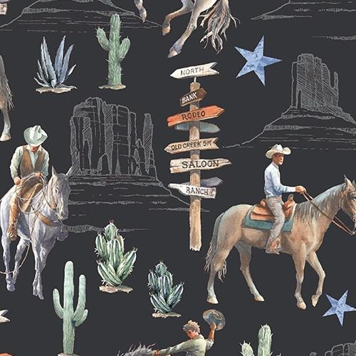 Windham Fabrics Desert Cowboy 52451D-1