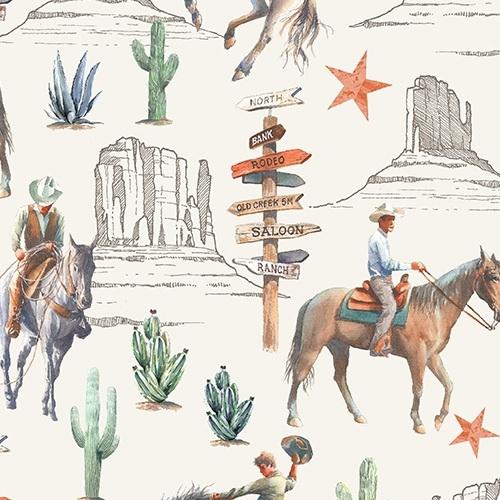Windham Fabrics Desert Cowboy 52451D-2