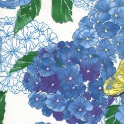 Moda Fabrics Cottage Bleu by Robin Pickens 48690-11